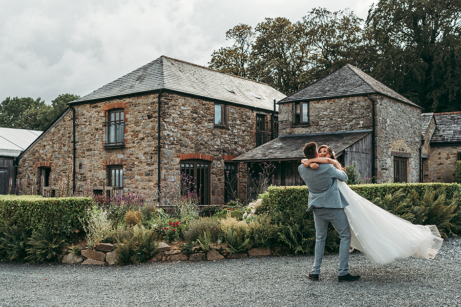 Philip and Chrissy's elegant rustic Trevenna Barns wedding, with Tracey Warbey Photography (34)