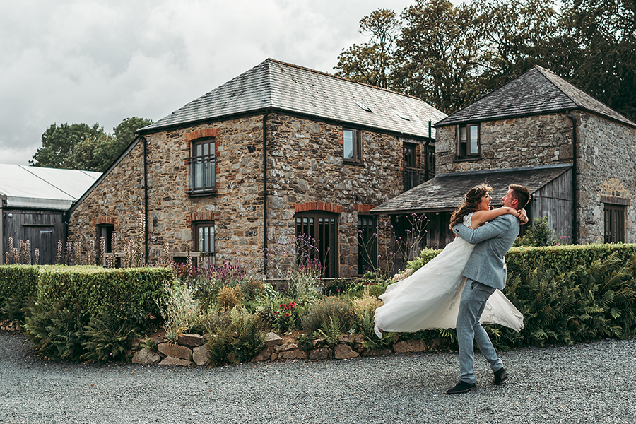 Philip and Chrissy's elegant rustic Trevenna Barns wedding, with Tracey Warbey Photography (35)