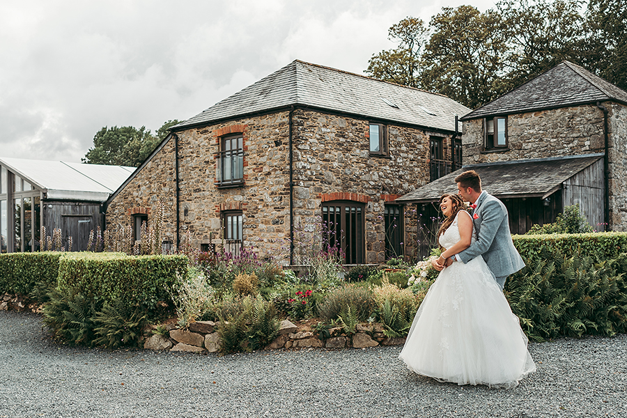 Philip and Chrissy's elegant rustic Trevenna Barns wedding, with Tracey Warbey Photography (36)