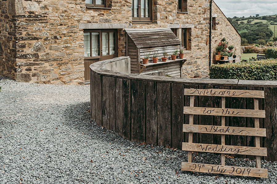 Philip and Chrissy's elegant rustic Trevenna Barns wedding, with Tracey Warbey Photography (1)
