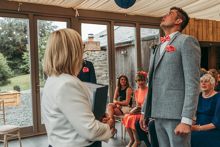 Philip and Chrissy's elegant rustic Trevenna Barns wedding, with Tracey Warbey Photography (8)