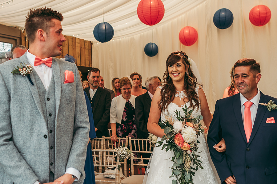 Philip and Chrissy's elegant rustic Trevenna Barns wedding, with Tracey Warbey Photography (9)
