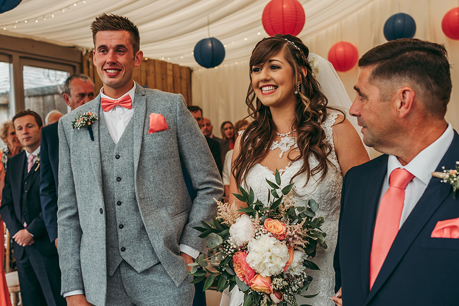 Philip and Chrissy's elegant rustic Trevenna Barns wedding, with Tracey Warbey Photography (10)