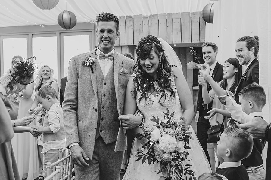 Philip and Chrissy's elegant rustic Trevenna Barns wedding, with Tracey Warbey Photography (12)