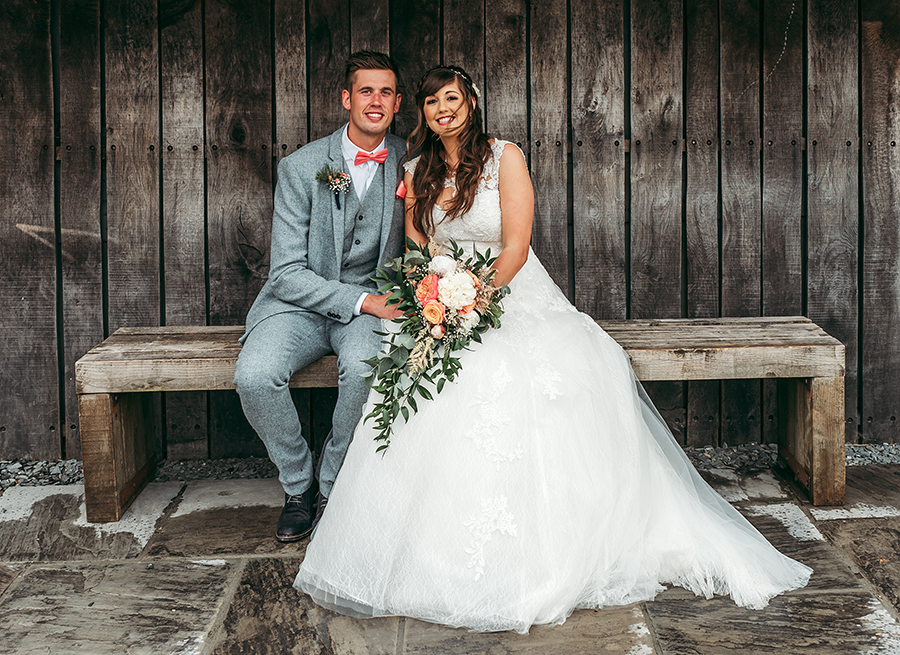 Philip and Chrissy's elegant rustic Trevenna Barns wedding, with Tracey Warbey Photography (14)