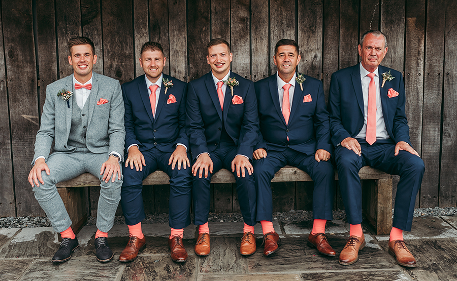 Philip and Chrissy's elegant rustic Trevenna Barns wedding, with Tracey Warbey Photography (16)