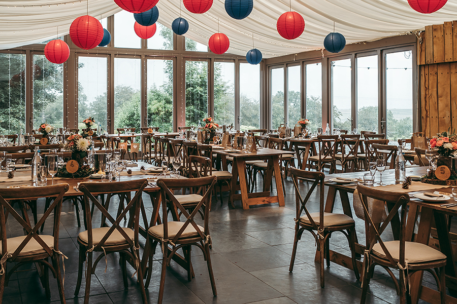 Philip and Chrissy's elegant rustic Trevenna Barns wedding, with Tracey Warbey Photography (17)