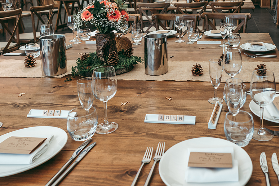 Philip and Chrissy's elegant rustic Trevenna Barns wedding, with Tracey Warbey Photography (18)