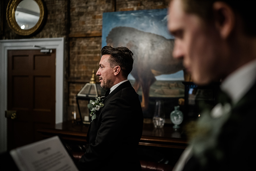 Mike & Khiley's sophisticated and FUN black tie wedding at Brunswick House, with Oliver Holder Photography (12)