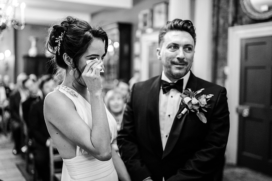 Mike & Khiley's sophisticated and FUN black tie wedding at Brunswick House, with Oliver Holder Photography (15)