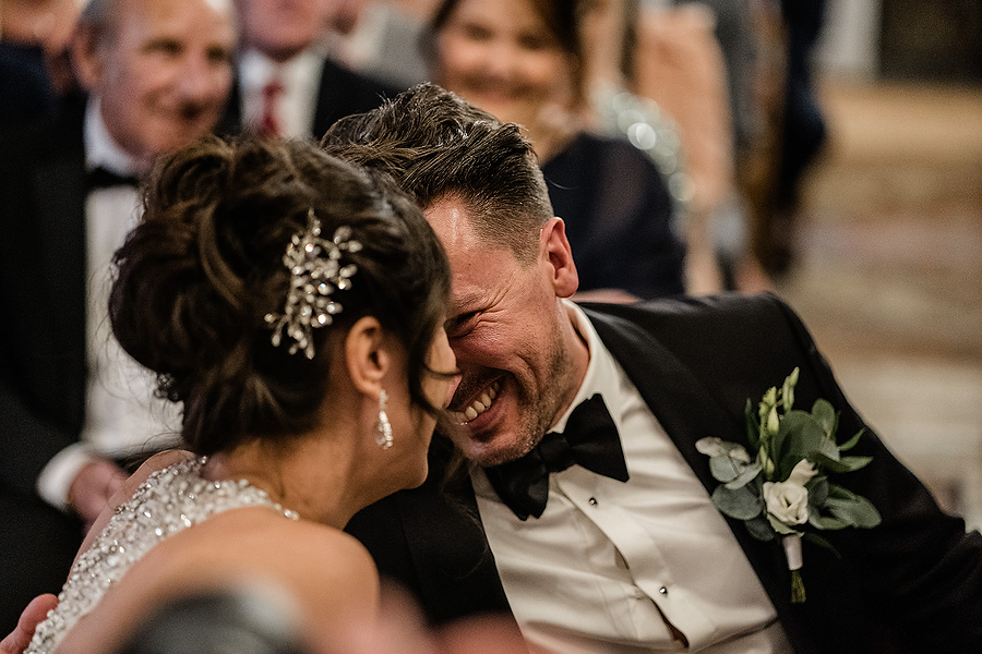 Mike & Khiley's sophisticated and FUN black tie wedding at Brunswick House, with Oliver Holder Photography (19)