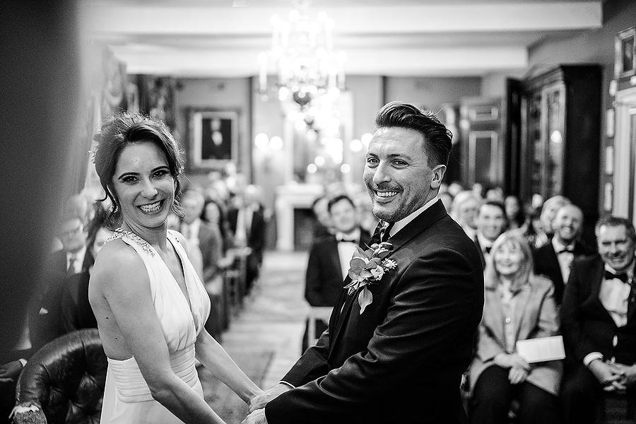 Mike & Khiley's sophisticated and FUN black tie wedding at Brunswick House, with Oliver Holder Photography (24)