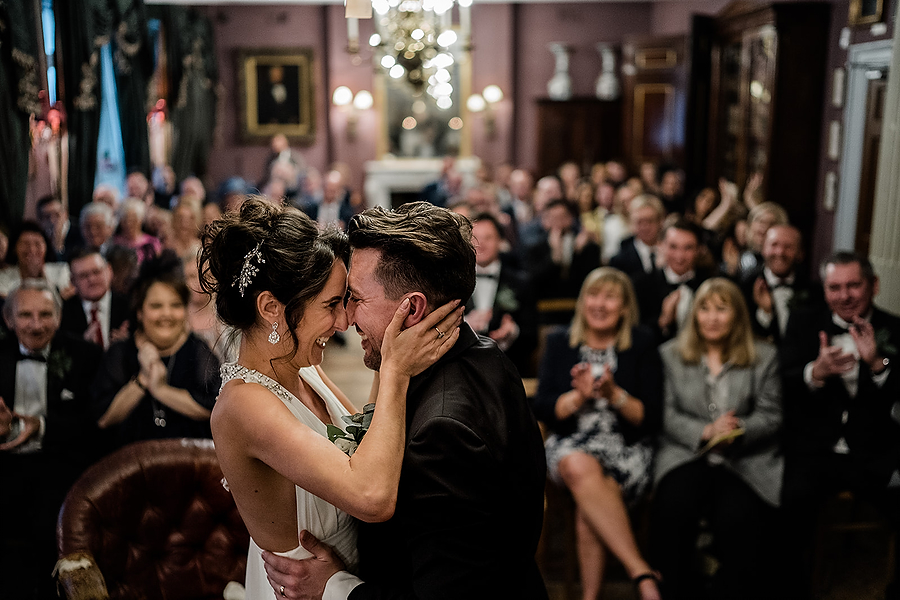 Mike & Khiley's sophisticated and FUN black tie wedding at Brunswick House, with Oliver Holder Photography (25)
