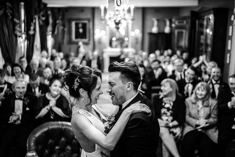 Mike & Khiley's sophisticated and FUN black tie wedding at Brunswick House, with Oliver Holder Photography (26)