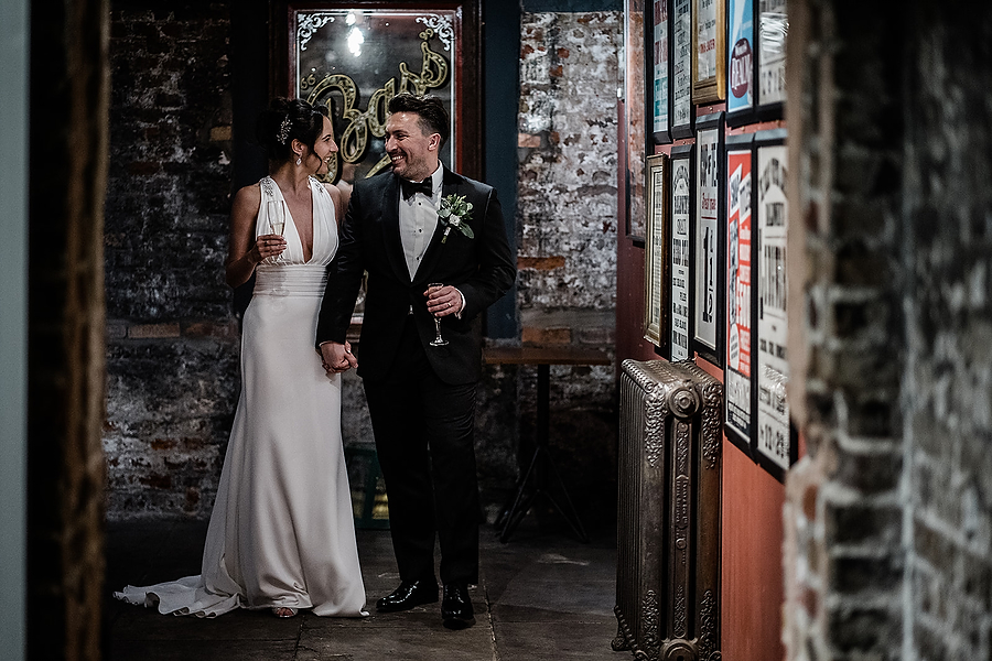 Mike & Khiley's sophisticated and FUN black tie wedding at Brunswick House, with Oliver Holder Photography (29)