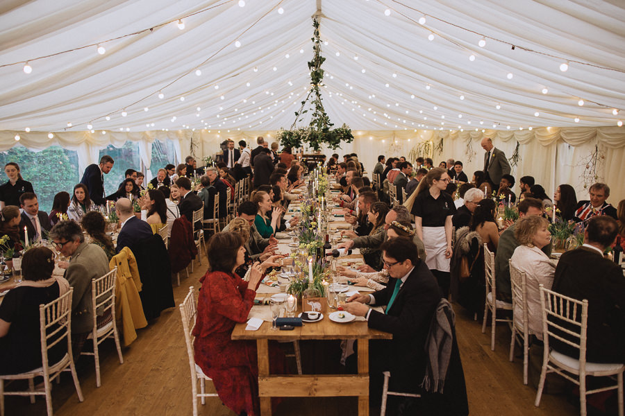 Nat & Oli's wild hilltop wedding with Fox and Bear Photography (44)