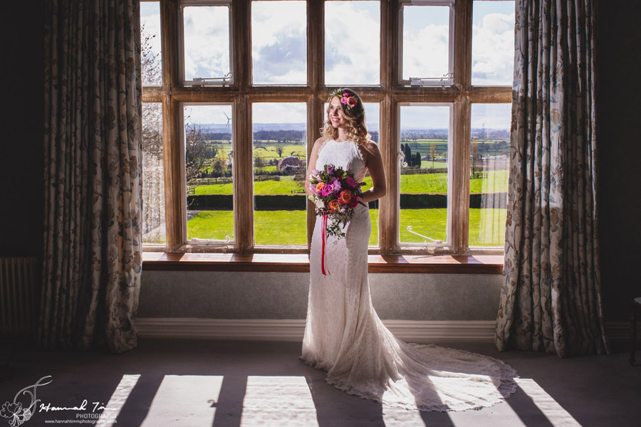 Fabulous spring colour for an Old Church Farm wedding! Photography credit Hannah Timm (6)