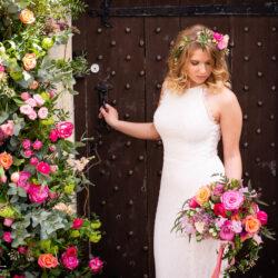 Fabulous spring colour for an Old Church Farm wedding!