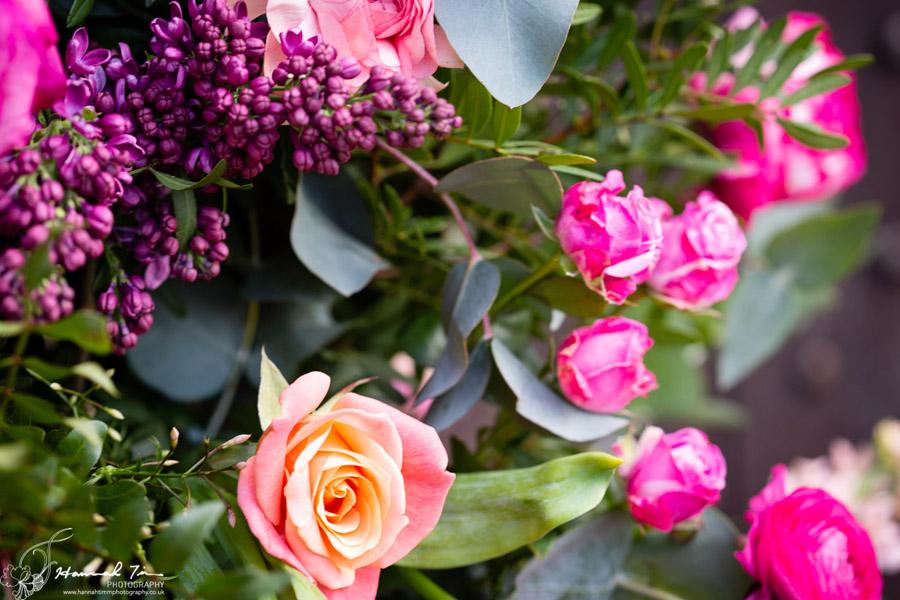 Fabulous spring colour for an Old Church Farm wedding! Photography credit Hannah Timm (13)