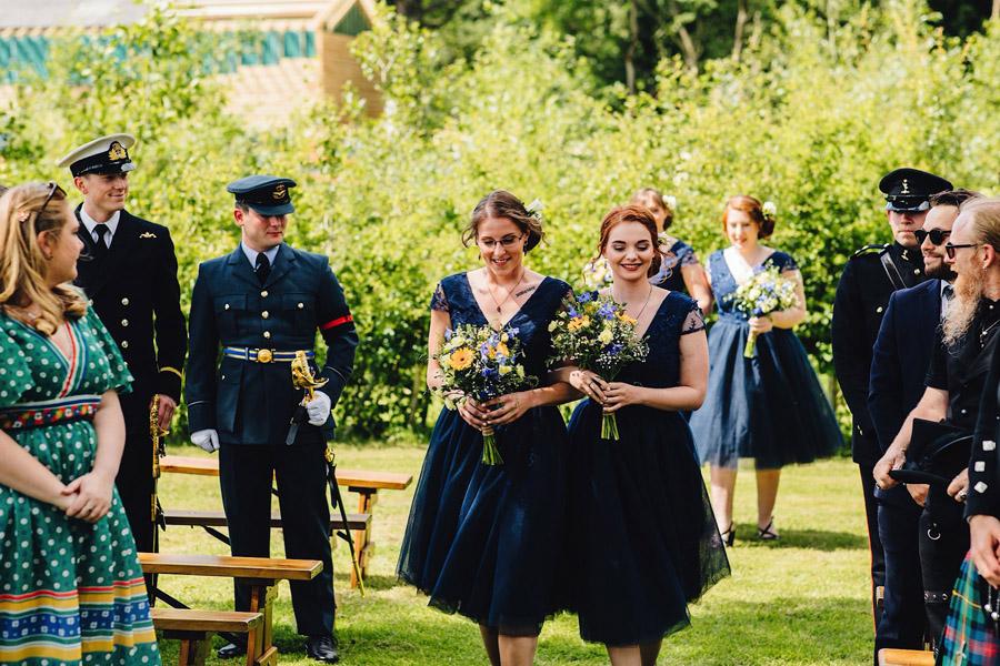 Lexi & Chris's joyful festival wedding, with JS Coates Photography (11)