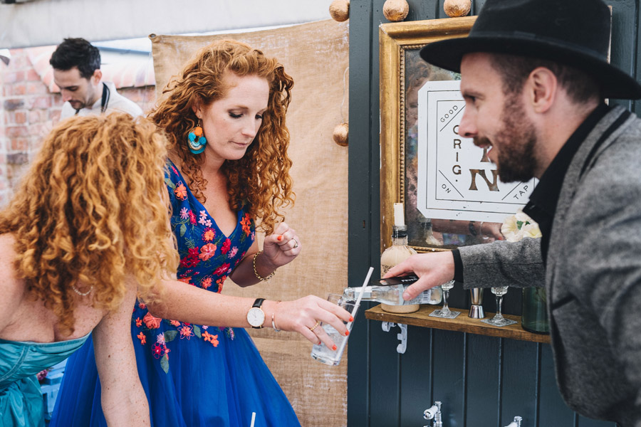 Lily & Gareth's crazily colourful, beautiful and eclectic marquee wedding, with Benessamy Weddings and Marta May Photography (18)