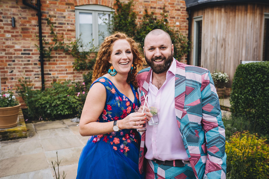 Lily & Gareth's crazily colourful, beautiful and eclectic marquee wedding, with Benessamy Weddings and Marta May Photography (19)
