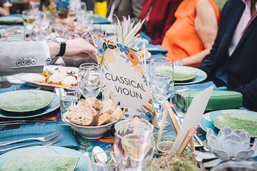 Lily & Gareth's crazily colourful, beautiful and eclectic marquee wedding, with Benessamy Weddings and Marta May Photography (27)