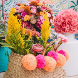 Lily & Gareth's crazily colourful, beautiful and eclectic marquee wedding, with Benessamy Weddings and Marta May Photography