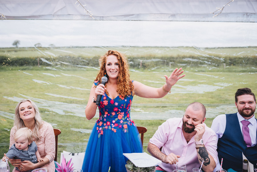Lily & Gareth's crazily colourful, beautiful and eclectic marquee wedding, with Benessamy Weddings and Marta May Photography (38)