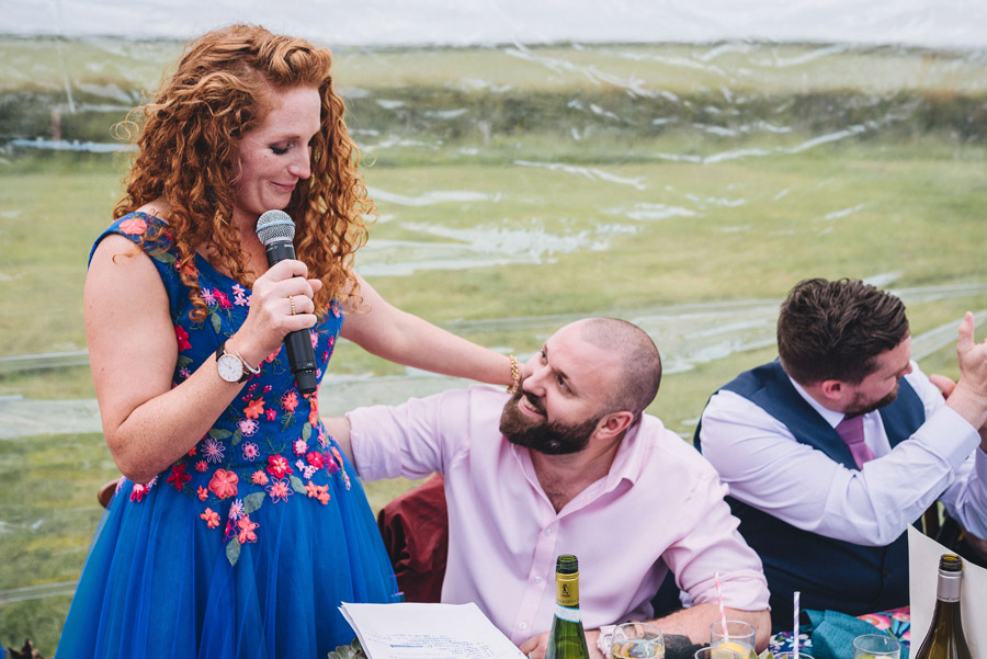 Lily & Gareth's crazily colourful, beautiful and eclectic marquee wedding, with Benessamy Weddings and Marta May Photography (41)
