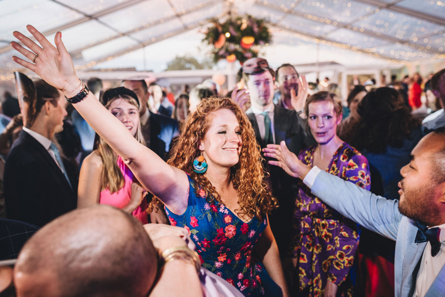 Lily & Gareth's crazily colourful, beautiful and eclectic marquee wedding, with Benessamy Weddings and Marta May Photography (52)