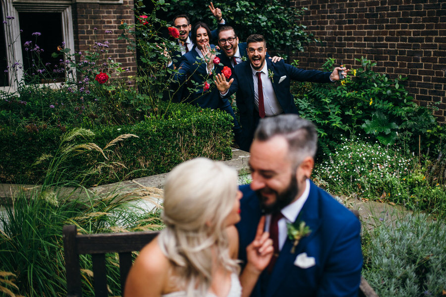 Ally & James's chic and modern museum-to-pub wedding, with Simon Biffen Photography (18)