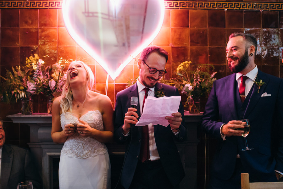Ally & James's chic and modern museum-to-pub wedding, with Simon Biffen Photography (33)