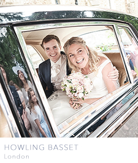 London wedding photographer Howling Basset