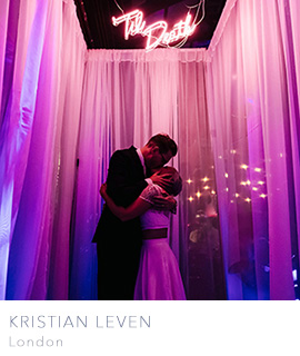 Documentary wedding photographers in London Kristian Leven Photography