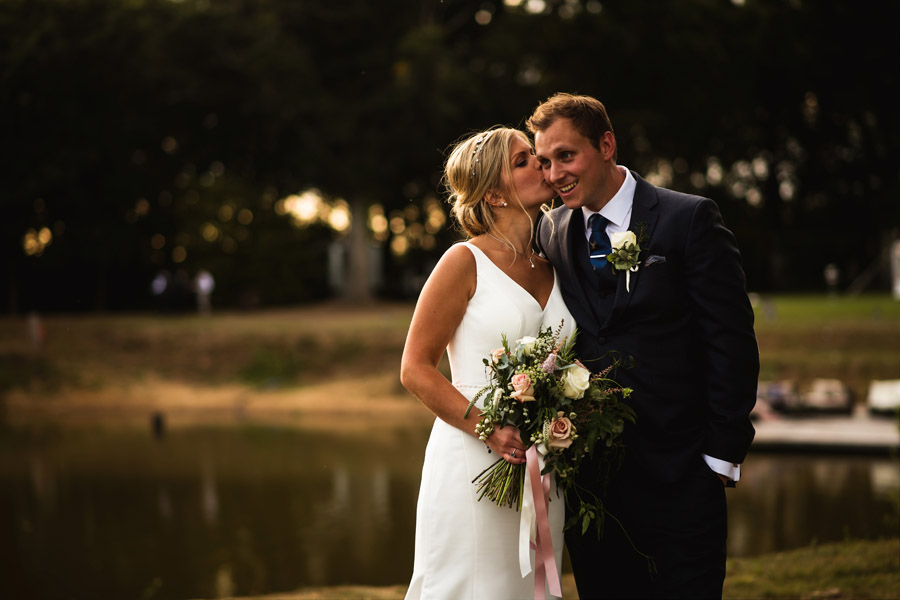 Lottie & Callum's timelessly beautiful wedding at Sopley Lake, with Robin Goodlad Photography (39)