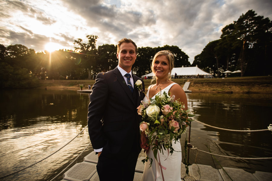 Lottie & Callum's timelessly beautiful wedding at Sopley Lake, with Robin Goodlad Photography (40)