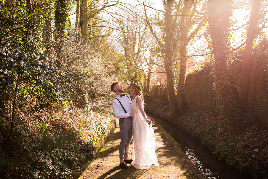 See you at Sunset - a warm autumnal wedding photoshoot with Nicola Belson Photography (1)