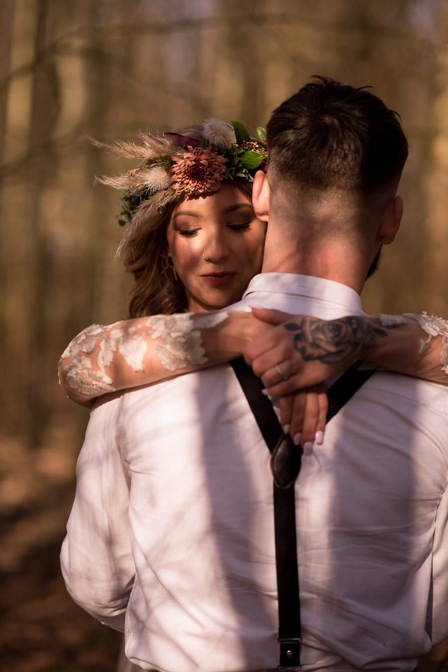 See you at Sunset - a warm autumnal wedding photoshoot with Nicola Belson Photography (20)