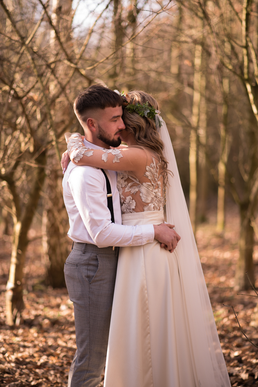 See you at Sunset - a warm autumnal wedding photoshoot with Nicola Belson Photography (21)
