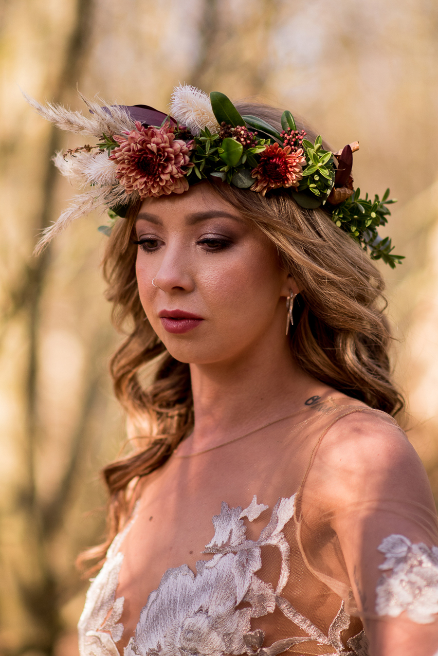 See you at Sunset - a warm autumnal wedding photoshoot with Nicola Belson Photography (25)
