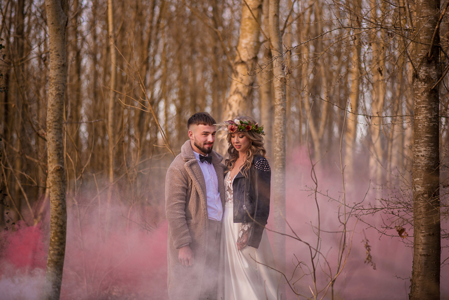 See you at Sunset - a warm autumnal wedding photoshoot with Nicola Belson Photography (27)