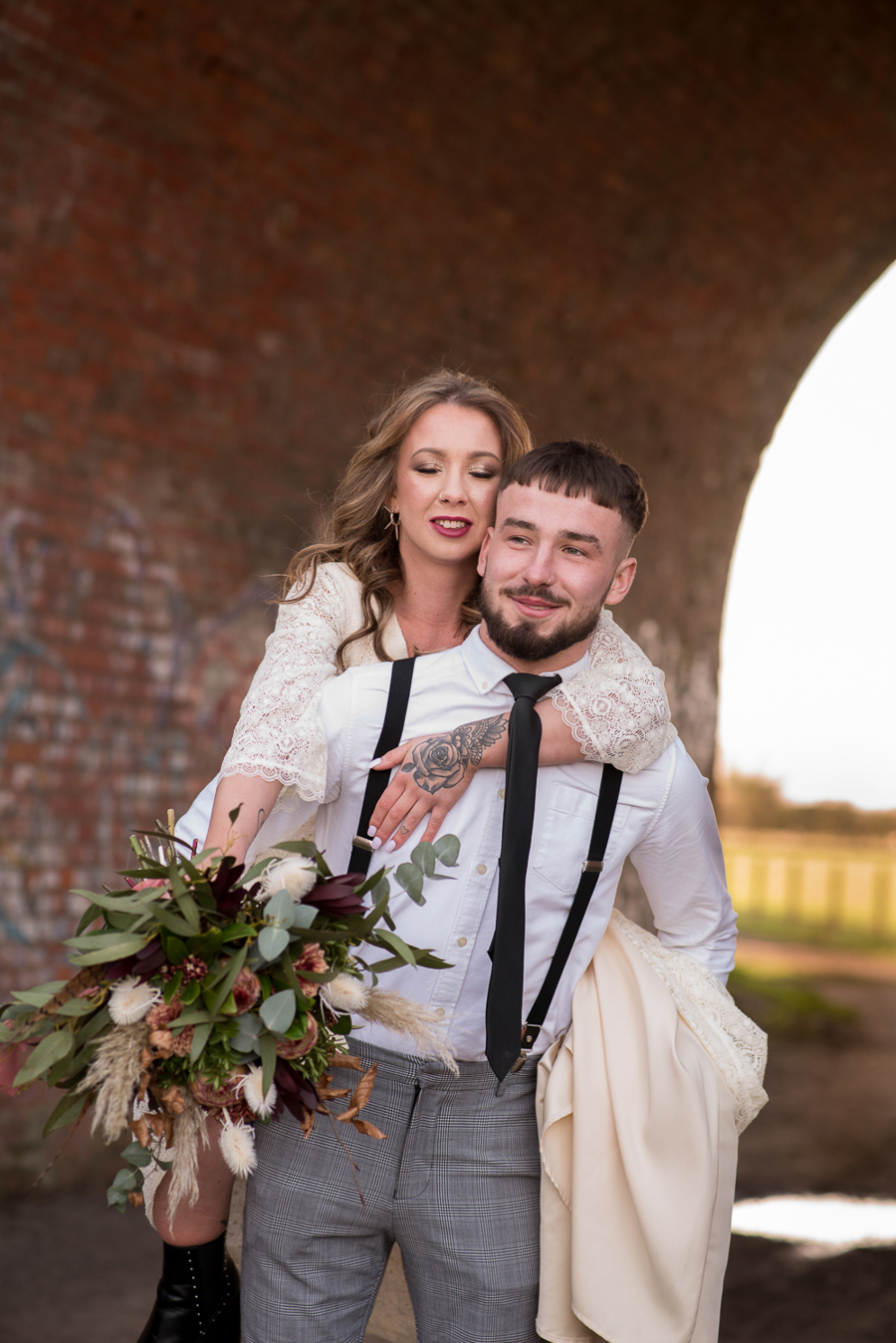 See you at Sunset - a warm autumnal wedding photoshoot with Nicola Belson Photography (43)