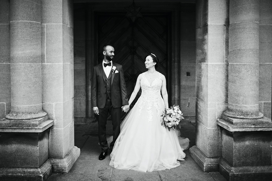 Real Wedding at Eltham Palace, London by Howling Basset