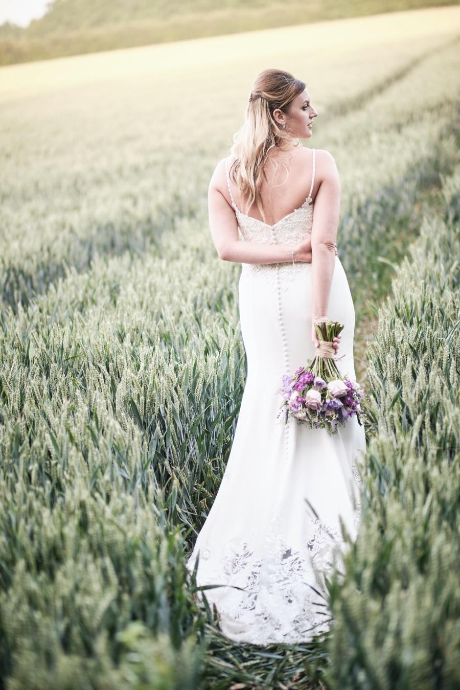 Real Wedding at Winters Barns, Canterbury by Howling Basset