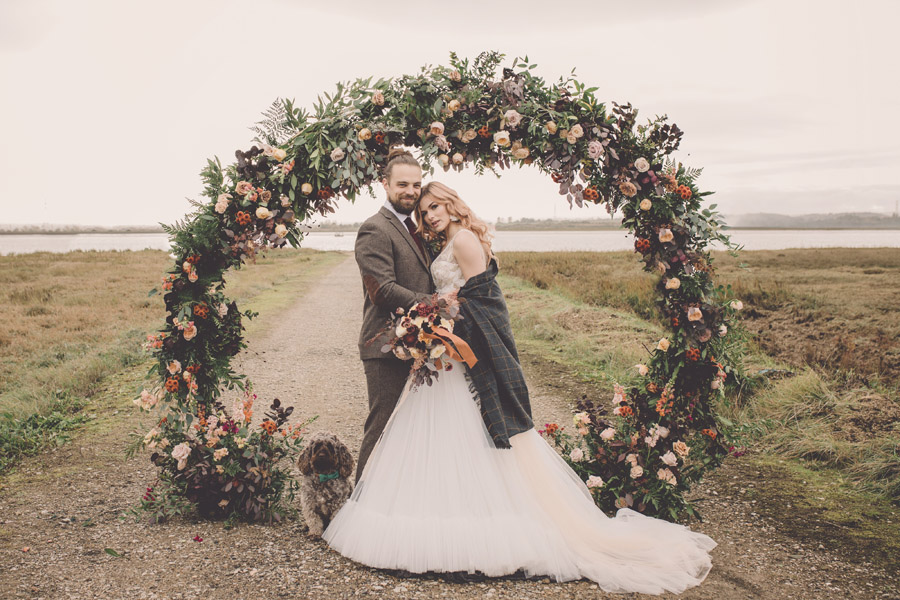 We Found Love! Natural, modern wedding inspiration from The Ferry House with images by Kerry Ann Duffy (39)