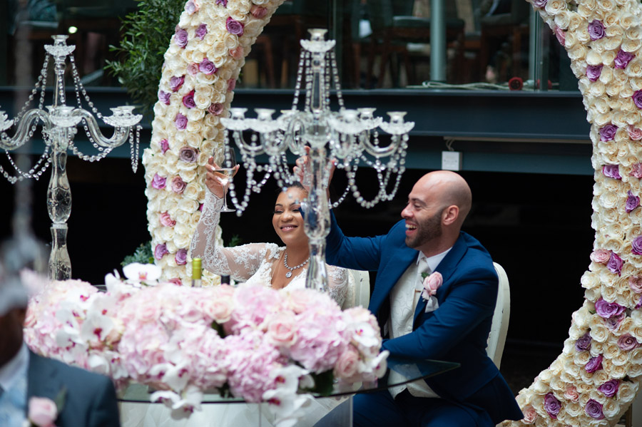 Chantel & Andrew's chic, modern and timeless wedding at Devonshire Terrace, with Carla Thomas Photography (39)