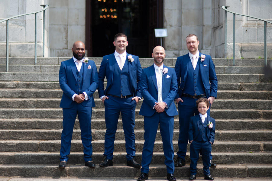 Chantel & Andrew's chic, modern and timeless wedding at Devonshire Terrace, with Carla Thomas Photography (13)