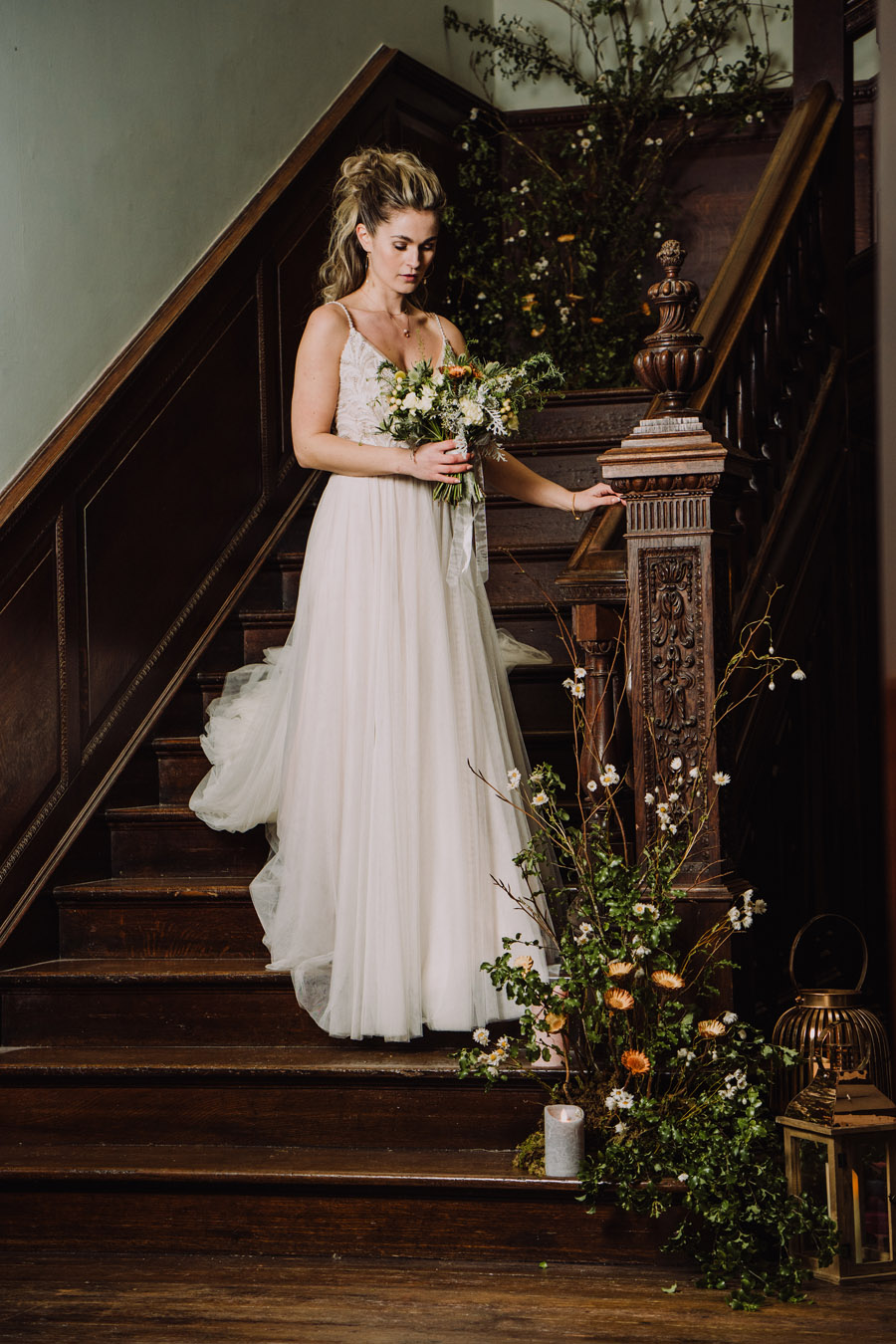 Moreton House Styled Shoot in North Devon, images by Anthony Lyons Special Day Wedding Photos (25)