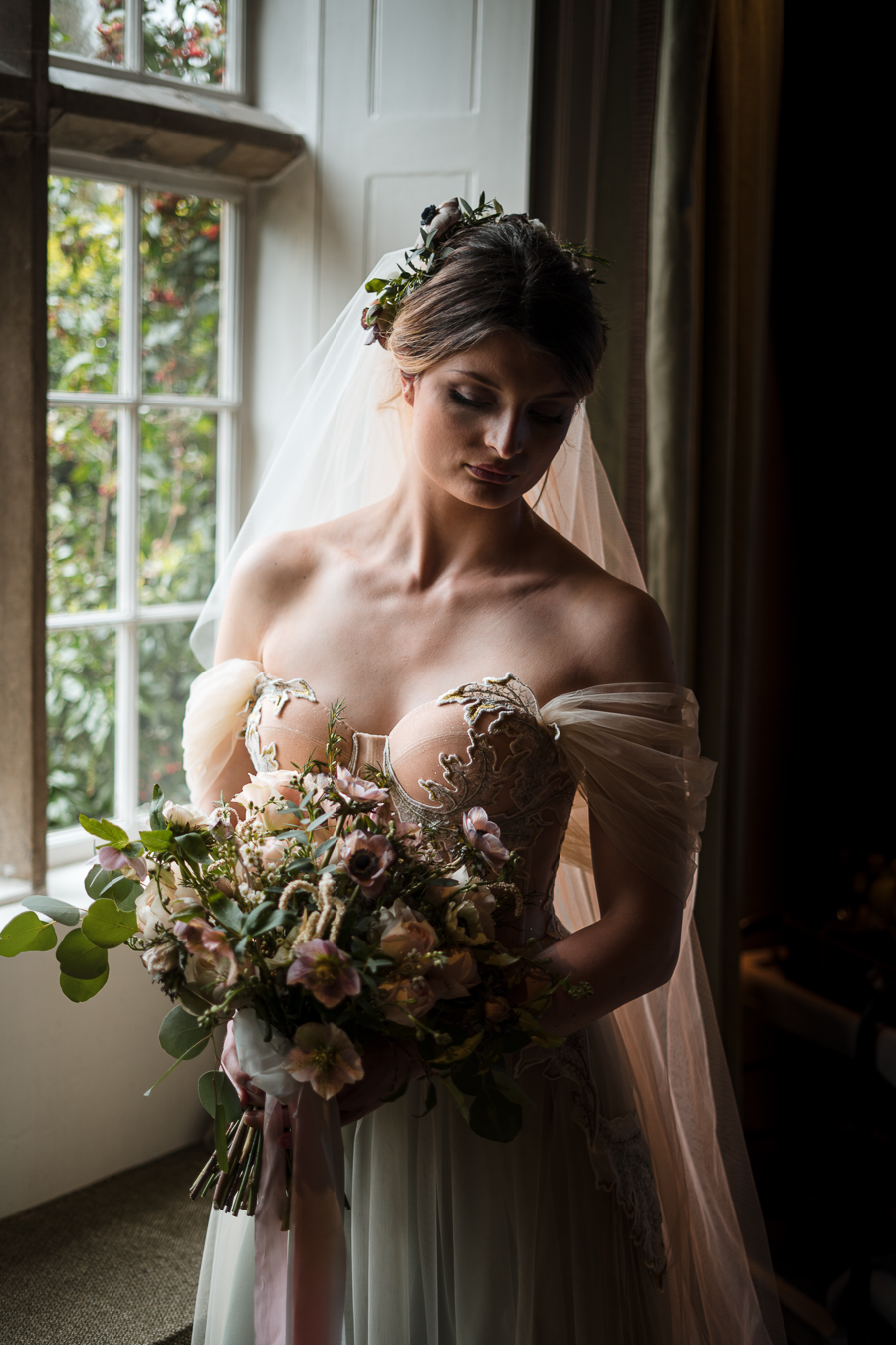 Candyfloss romance from the secret garden at Barnsley House, image credit Red Maple Photography (4)